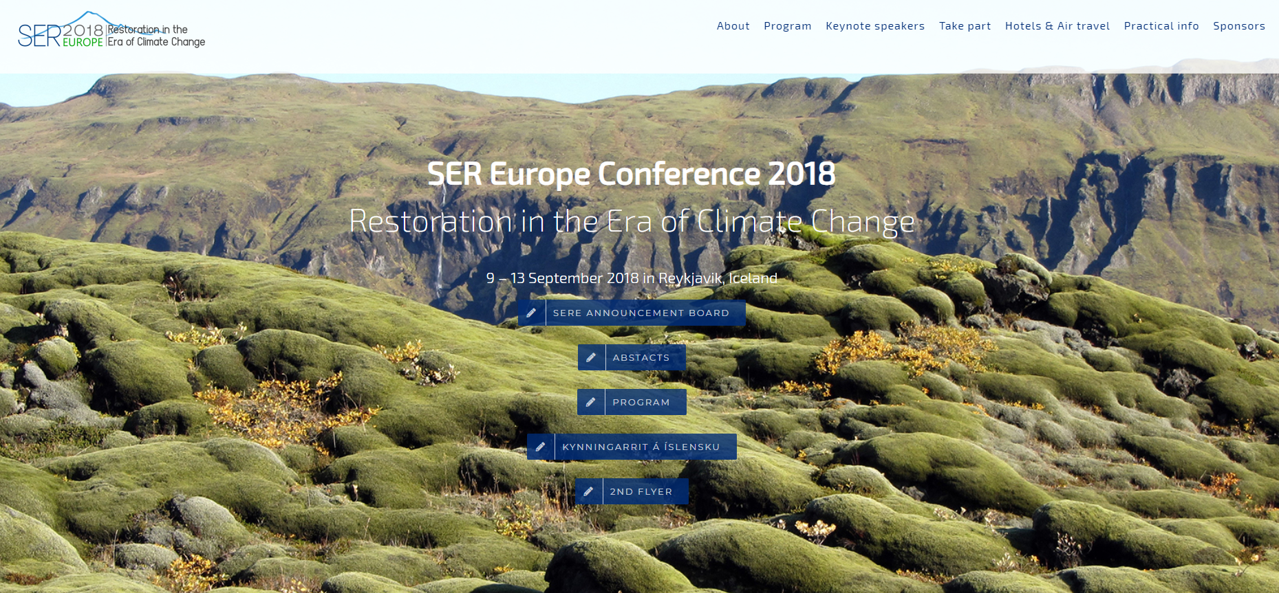 Presentación del proyecto LIFE Fluvial en el congreso «SER Europe Conference 2018 Restoration in the Era of Climate Change»