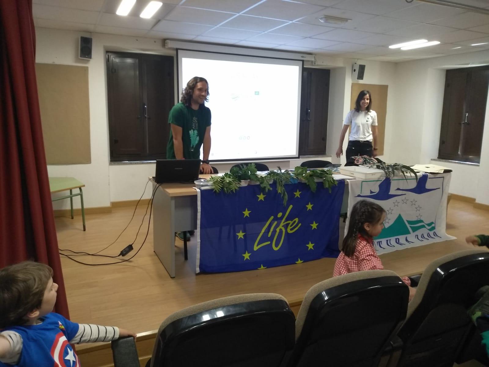 Taller escolar en Vegadeo. Día Red Natura 2019