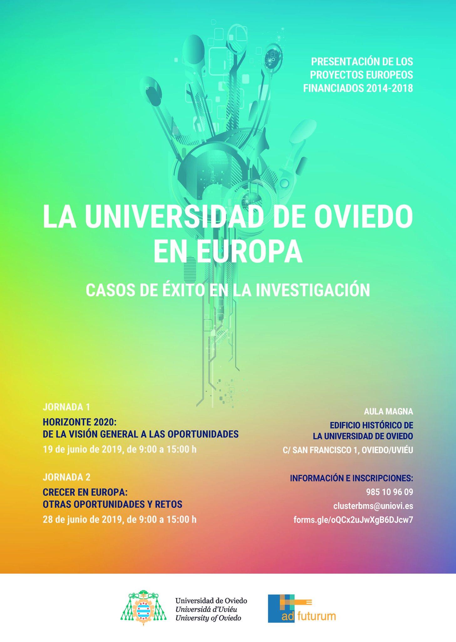 Life Fluvial  presente en la jornada La Universidad de Oviedo en Europa: Casos de éxito en la investigación