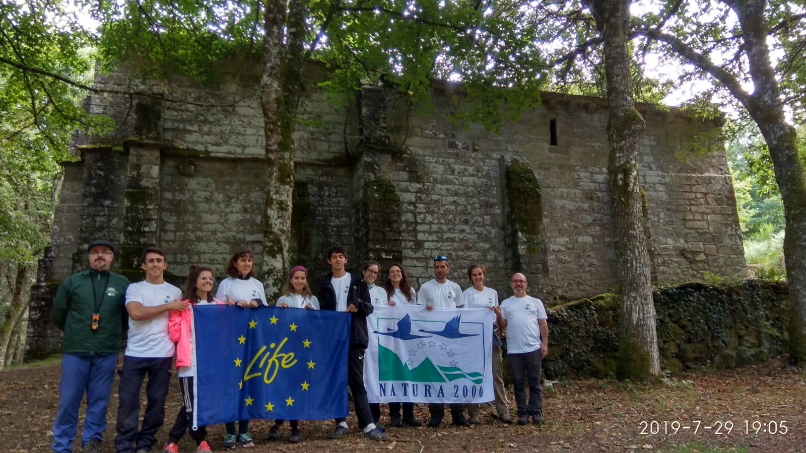 LIFE FLUVIAL participa en una jornada de voluntariado ambiental en Guitiriz (Lugo