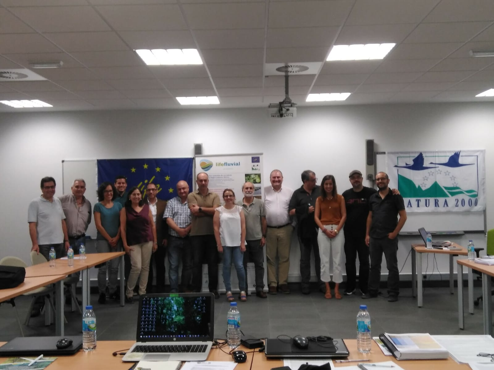 II Reunión general de socios del proyecto LIFE Fluvial