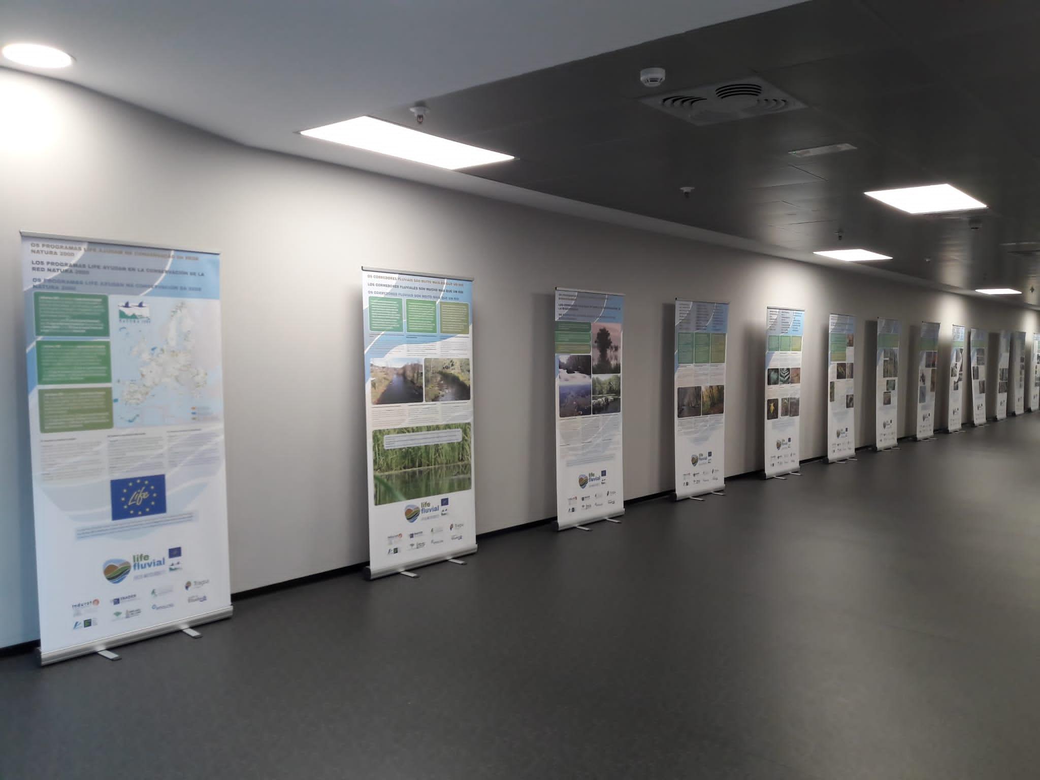 Presentación de la exposición itinerante LIFE Fluvial en EMALCSA