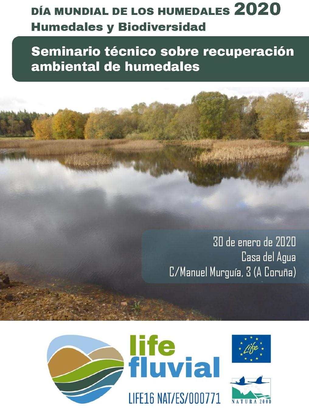 Seminario técnico sobre recuperación ambiental de humedales en A Coruña