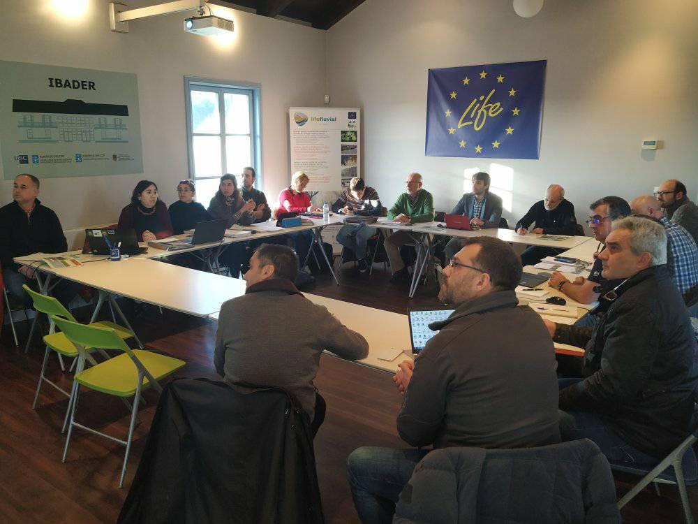 III reunión de coordinación y gestión del proyecto LIFE Fluvial en Lugo