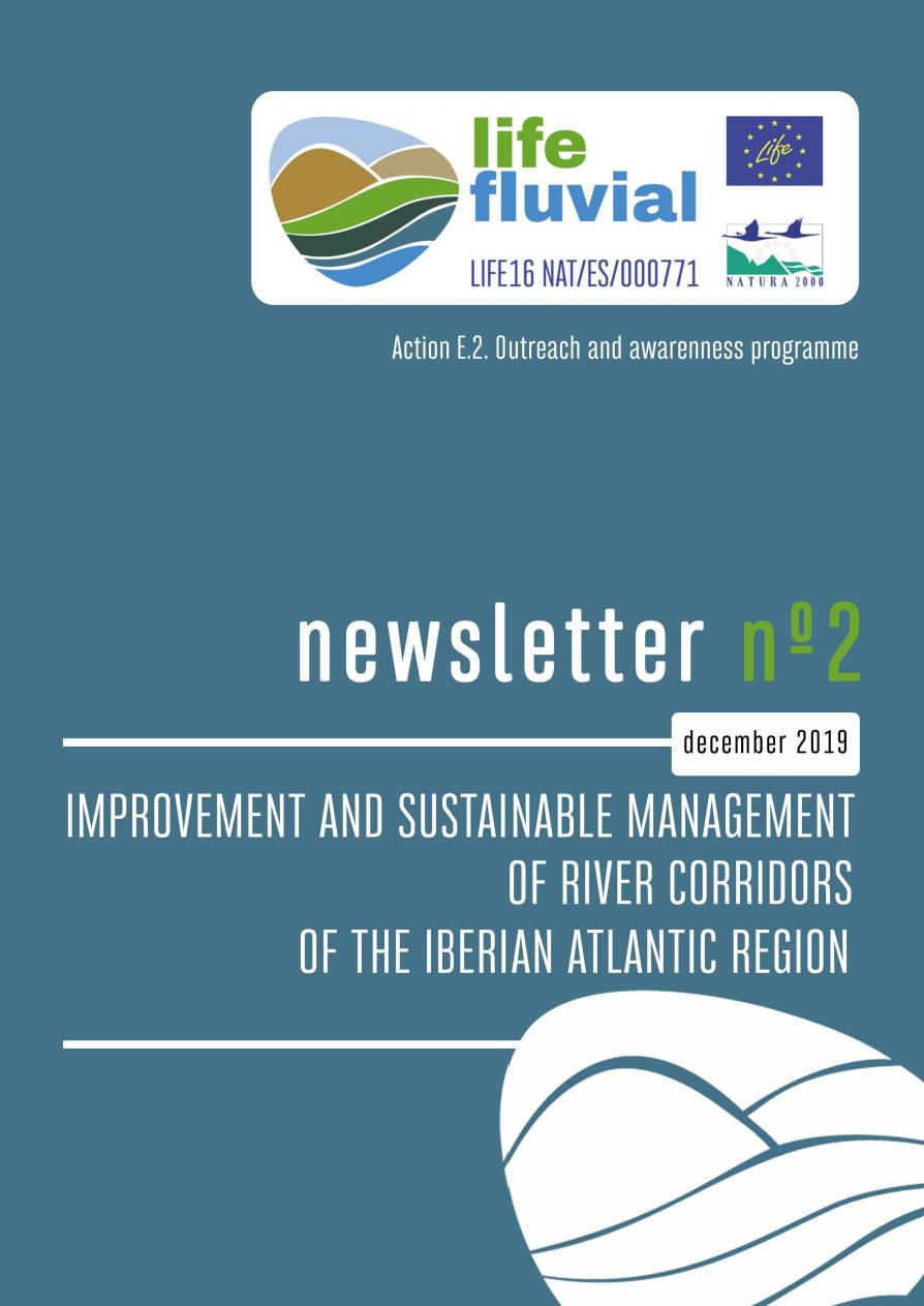 Segundo Boletín de Actividades de proyecto LIFE Fluvial