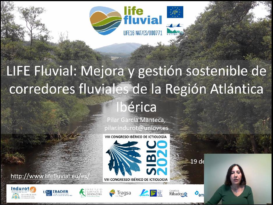 El LIFE Fluvial ha participado en el VIII Congreso de la Sociedad Ibérica de Ictiología (Sibic)