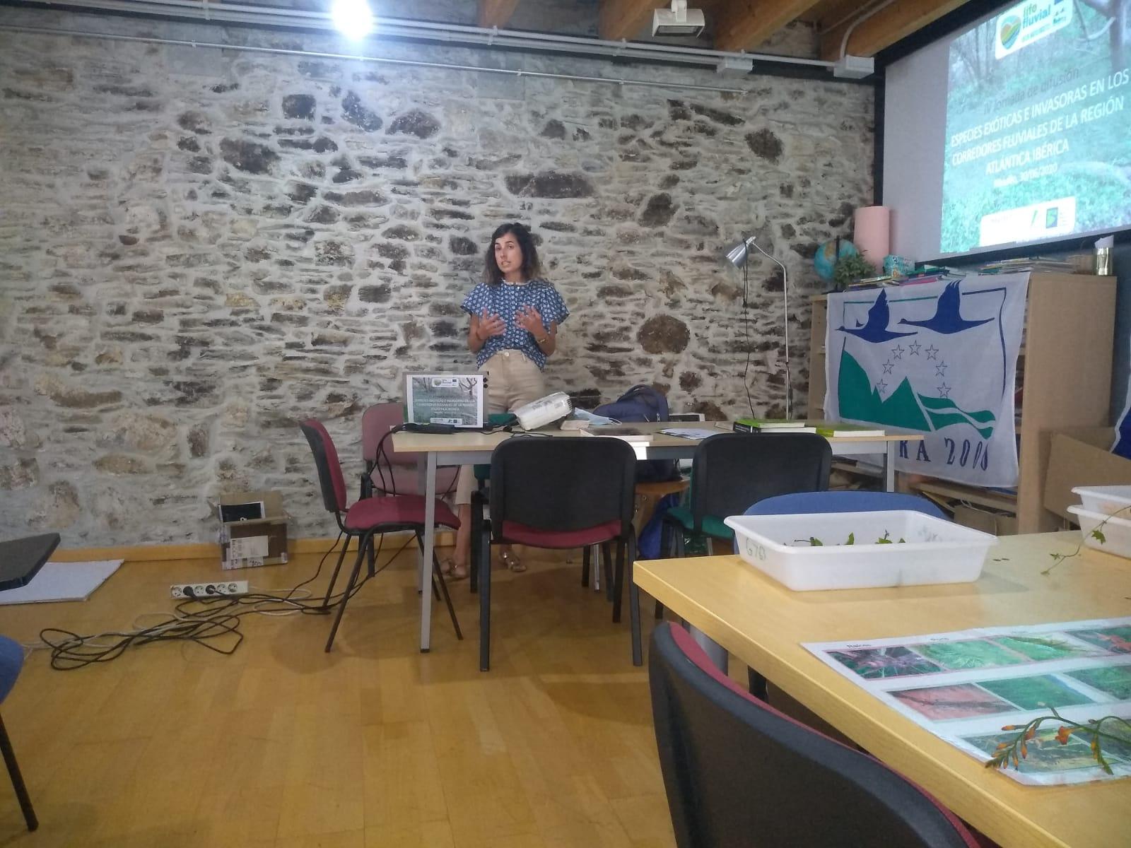 Se celebró en Ribadeo la cuarta y última Jornada de difusión especializada sobre Especies Exótica Invasoras