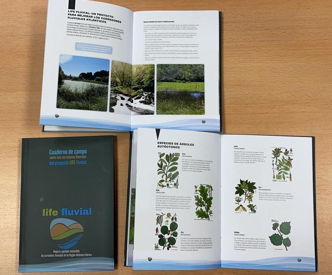 Cuadernos de campo del LIFE Fluvial
